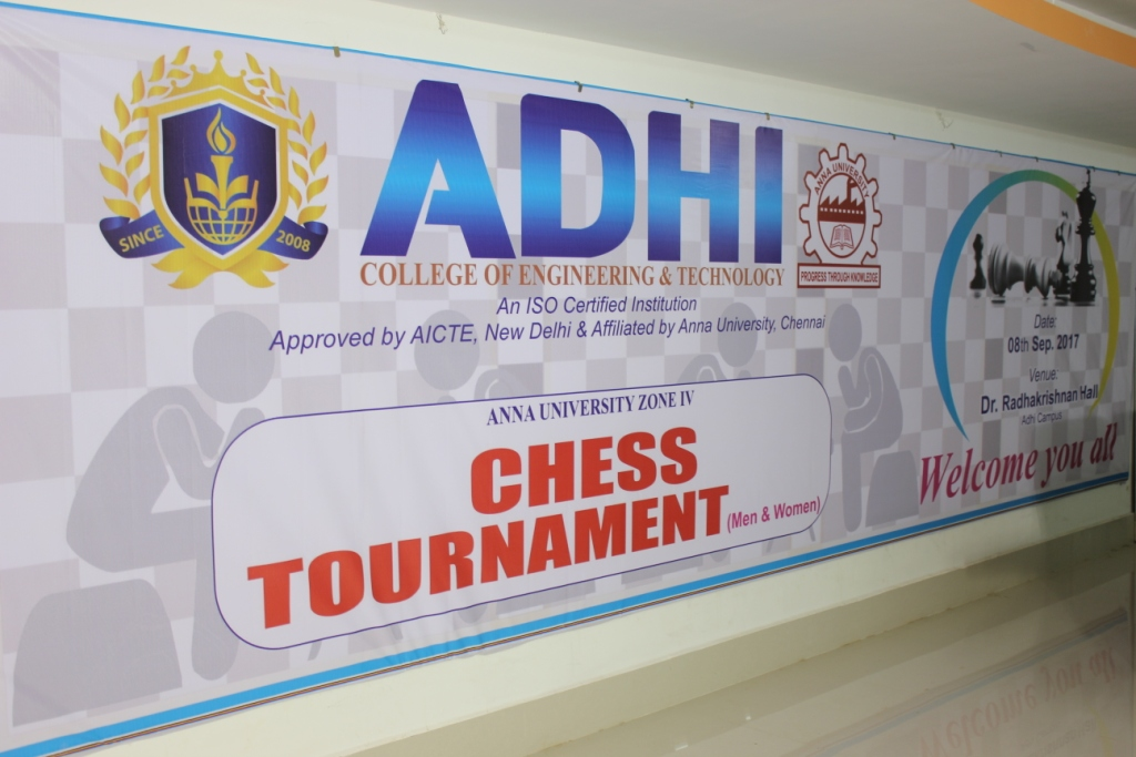 Anna University Zone IV Chess Tournament 2017