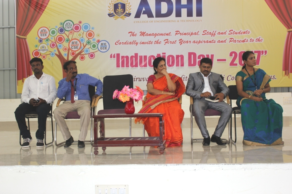 Induction Day Celebration 2017